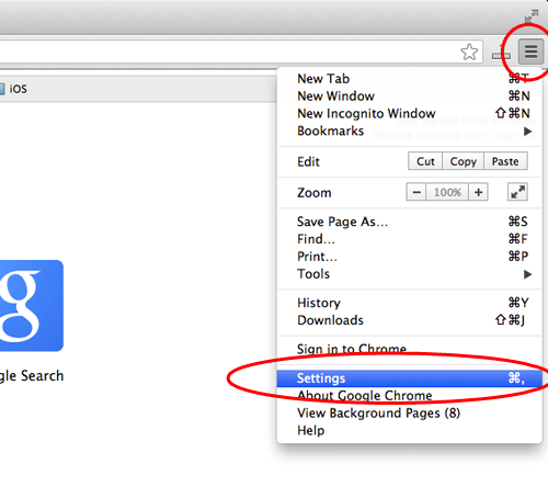 Enable JavaScript in Google Chrome