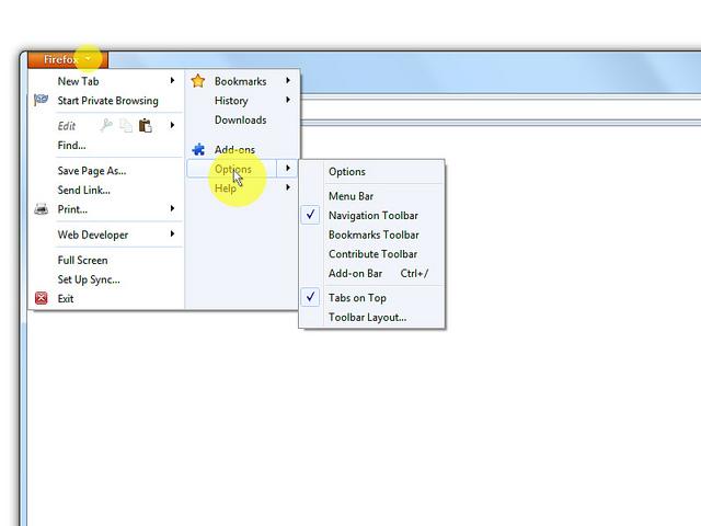 Омогућите ЈаваСцрипт у Firefox